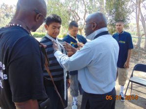 Session On Tie Tying